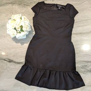 Black House White Market Black Structured Dress